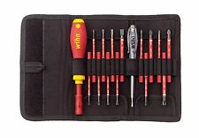 Wiha 2831T16 Screwdriver Set Slotted/Phillips/PoziDriv/Torx slimVario VDE 1000V