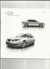 SAAB 95 EDIZIONE TURBO 2.0 T,2.3 T,1.9 TID & 1.3 T Saloon & Estate vendita opuscolo 2008