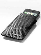 original Mercedes Benz AMG Funda para móvil de smartphone iPhone 5 Cuero