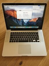 "Apple MacBook Pro 15"" 2009 2.66ghz 4gb Ram 500gb HD"