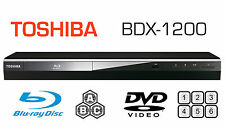 Toshiba MULTI REGION BDX1200 Blu-ray Player ALL REGIONS FREE A B & C DVD 1-6