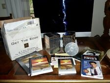 Tony Robbins Get The Edge Personal Power CDs unopened - journals orig box