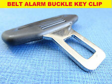 BMW BLACK SEAT BELT ALARM BUCKLE KEY TONGUE SAFETY CLASP STOP