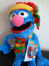 "GROVER Macys SESAME STREET Plush 2004 With Watch 24"" With Tag FREE SHIPPING"