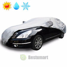 Full Car Cover Waterproof Sun UV Snow Dust Rain Resistant Protection Size L