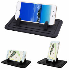 Silicon Pad Dash Cellphone Car Mount Holder Cradle for iPhone Samsung LG