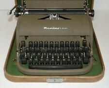 Vintage REMINGTON Manual Typewriter In Original Case Portable WORKS