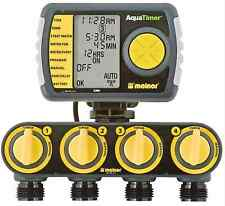 4-Zone Programmable Garden Watering Irrigation Lawn Sprinkler Hose Timers System