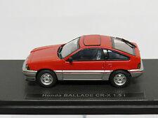 Honda BALLADE CR-X 1.5 i Red/Silver 1/43 Ebbro 44114
