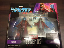 "Marvel Legends 3 3/4"" Guardians of the Galaxy Movie 2 Pack Yondu & Star-Lord NEW"