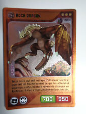 CARTE INVIZIMALS N° 188 ROCK DRAGON LASER NOUVELLE ALLIANCE NEUF