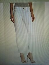 NWT Current/Elliott Stiletto Ankle Jeans SUGAR  Size 26 Saks 5th Ave $169