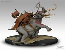 Lord of the rings Mumak of Harad Sideshow Weta statue. NIB The Hobbit