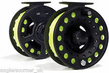 Leeda Ready To Fish Fly Reel 5/6 with WF6F Fly Line / Game Fishing