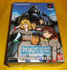 MOBILE SUIT GUNDAM LOST WAR CHRONICLES LIMITED BOX Ps2  NTSC Giapponese ○ NEW