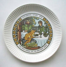 Wedgwood Childrens Story Plate 1978 THE FROG PRINCE