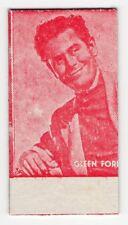 Spanish Weighing Weight Machine Card Calzados Garcera Canadian Actor Glen Ford