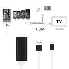 Micro USB to HDMI Adapter 1080P MHL HDTV Cable for iphone 6 / 6s 5 / 5s