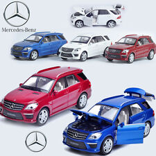 1:32 Mercedes-Benz ML 63 Diecast Model Car Kids Metal Alloy Pull Back Decor Toy