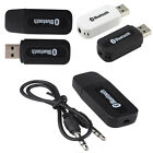 Wireless USB Bluetooth 3.5mm Audio Stereo Music Speaker Receiver Adapter Dongle