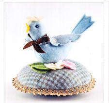 PATTERN - Bitty Bird - cute little bird pincushion PATTERN - Bunny Hill designs