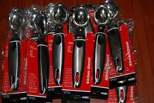 "Lot Of 12 Stainless Steel 2"" Scoop Ice Cream Mash Potato Food Fruit Spoon 8"""