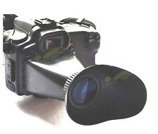 new Cameras LCD viewfinder Extender Review for canon 550d 600D 60D Magnifier