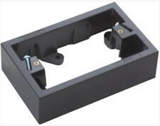 BLACK DEEP MOUNTING BLOCK 34mm for standard powerpoint switch gpo outlet socket