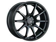 17 SSR GTV02 BLACK RIMS 17x9 +22 5x114.3 FITS: CIVIC RSX AGGRESSIVE