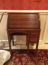 Antique Paris Mfg. Co. No. 424 Childs Roll Top Desk c. 1910-1920