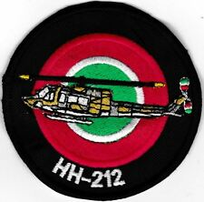 [Patch] HH-212 ELICOTTERO cm 8 toppa ricamata ricamo HH212 HELICOPTER -475
