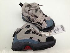 BNWT Little Boys Sz 6 Rivers Doghouse Brand Blue/Grey Lace Up Walking Boots