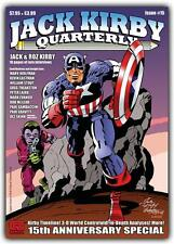 Jack Kirby Quarterly #15 (68 colour pages)