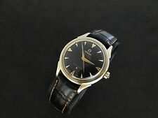 VINTAGE OMEGA CONSTELLATION ARROW MARKERS GOLD & STEEL AUTOMATIC CAL 501