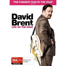 DAVID BRENT:Life On The Road-Ricky Gervais-Region 4-New AND Sealed