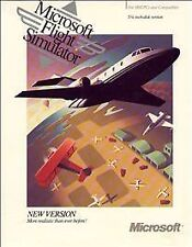 Microsoft Flight Simulator Version Desk Dos Systems vintage computer Program