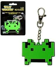 Space Invaders: Invader A forma di Mini Portachiavi Torcia a LED & Ufficiale