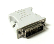24+1 DVI Pin Male to 15 Pin VGA Female Convertor Adapter DVI-D FastShip From USA