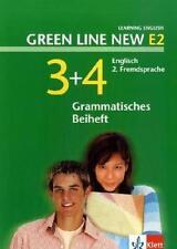 GREEN LINE NEW E2. BAND 3 UND 4. GRAMMATISCHES BEIHEFT