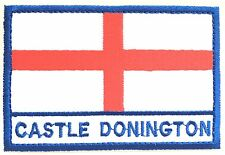 Castle Donington England Town & City Embroidered Sew on Patch Badge