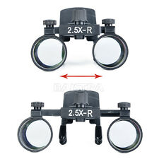 1 X Dental Clip on 2.5X Loupes Surgical Binocular Magnifier Loupes for dentist