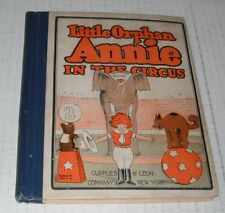 Little Orphan Annie Book 2.. 1927  comic--BG...FINE  6.0  grade..