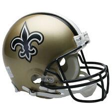 NEW ORLEANS SAINTS RIDDELL NFL FULL SIZE AUTHENTIC PROLINE FOOTBALL HELMET