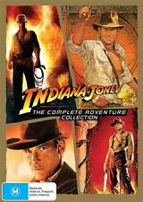 Indiana Jones (DVD, 2015, 4-Disc Set)
