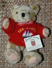 "Channel Island Toys Dartmouth Bear 9"" Plush with Tags"
