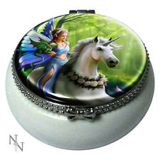 Anne Stokes officially licensed Trinket box Realm of Enchantment Unicorn