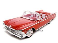 1959 BUICK ELECTRA 225 RED 1:18 DIECAST MODEL CAR BY ROAD SIGNATURE 92598