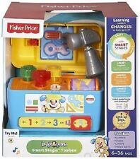 New Fisher-Price laugh & Learn Smart Stages Toolbox Playset Toy 6-36m