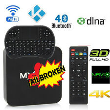 16.0 MX PRO 4K S905X Quad Core Android Smart TV Box Fully Loaded WIFI+Keyboard