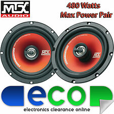 Saab 9.3 2003 - 2014 MTX 16cm 6.5 Inch 480 Watts 2 Way Front Door Car Speakers